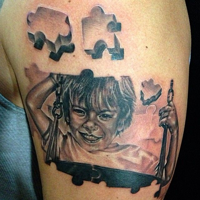 75 best ink me images on pinterest autism tattoos for Tattoo artists orange county