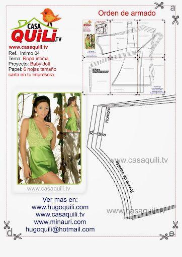 Quili Ropa intima baby doll - Mary N - Álbumes web de Picasa
