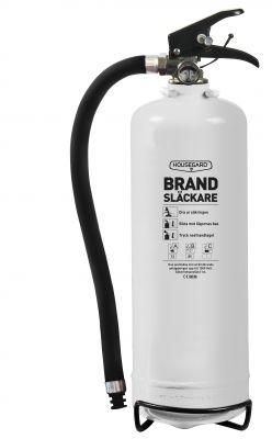 Housegard - Brandsläckare Pulver 2kg vit i gruppen Produkter / Säkerhet hos Motormännens Riksförbund (5759)