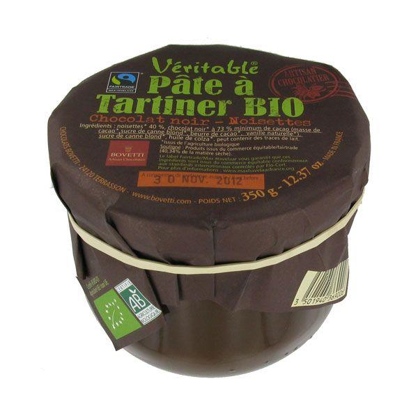 Pâte à tartiner chocolat noir noisettes - Bovetti  my favorite!!!!!!