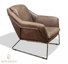 """Vår Old Amsterdam lenestol i """"full grain vintage leather"""" kombinerer stil, komfort og design! Denne perlen av en stol er produsert i høykvalitets """"full grain vintage leather"""" og er omsluttet av en ramme i jern. #furniture #møbler #leather #skinn #chair #stol #fullgrain"""