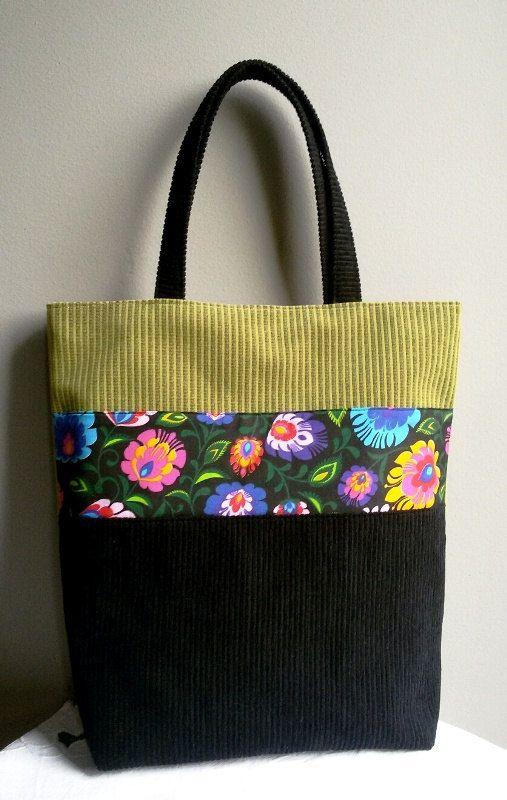 women's handbags shoulder bag big bag city bag folk by IrisBags