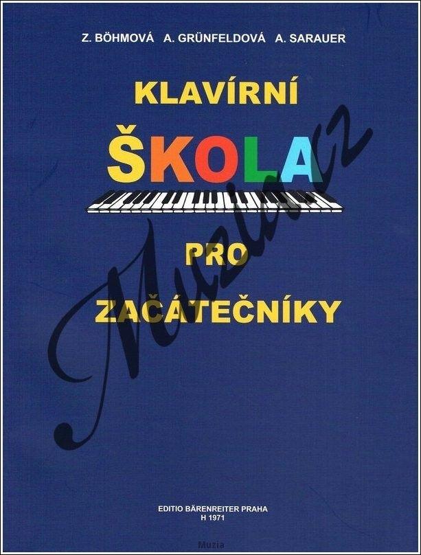 Klavírní škola pro začátečníky BGS (B.G.S.) - 0