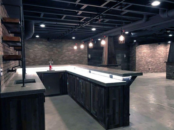 smart basement bar ideas making your cellar pub sparkle on smart man cave basement ideas id=85572