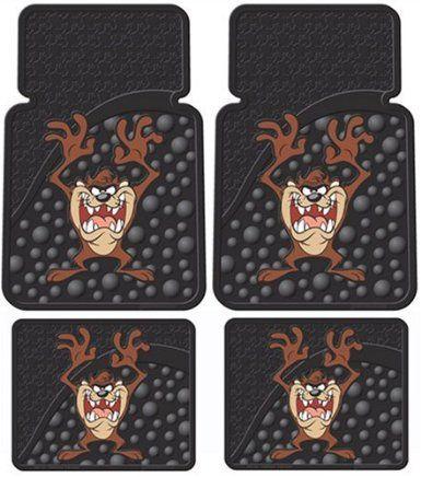 Tasmanian Devil Car Floor Mats Seat CoversCar