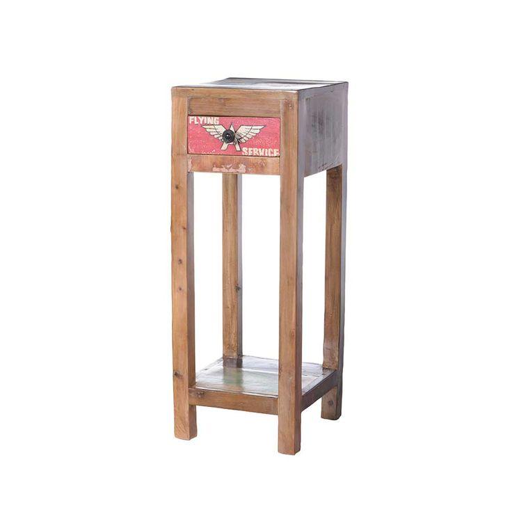 Blumenhocker in Bunt Loft Style Jetzt bestellen unter: https://moebel.ladendirekt.de/wohnzimmer/tische/beistelltische/?uid=ec4eed41-cf8b-53e4-b1c3-6a670f44440d&utm_source=pinterest&utm_medium=pin&utm_campaign=boards #telefontisch #tischgestell #wohnzimmertisch #blumensäule #beistelltisch #beistelltische #designer #massiv #echtholztisch #tische #blumenhocker #beistelltischchen #massivholz #blumentisch #massivholztisch #tisch #beistel #wohnzimmer #blumenregal #holztisch #blumenständer