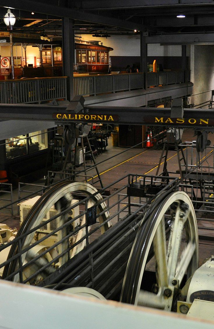 Tips to visit the free Cable Car Museum in San Francisco: http://www.sftourismtips.com/san-francisco-cable-car-museum.html