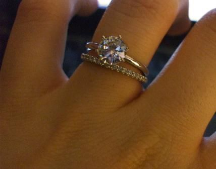 138 best Engagement Rings images on Pinterest Wedding bands Jewel