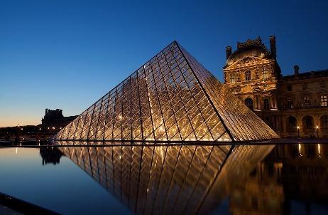 Say hi to Mona Lisa at the Louvre