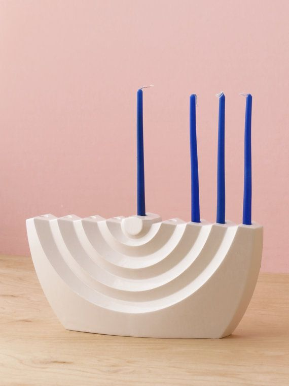 275 best menorahs candlesticks and more contemporary judaica