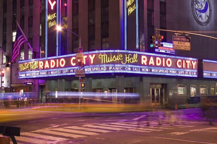 Radio City Music Hall. NYC.