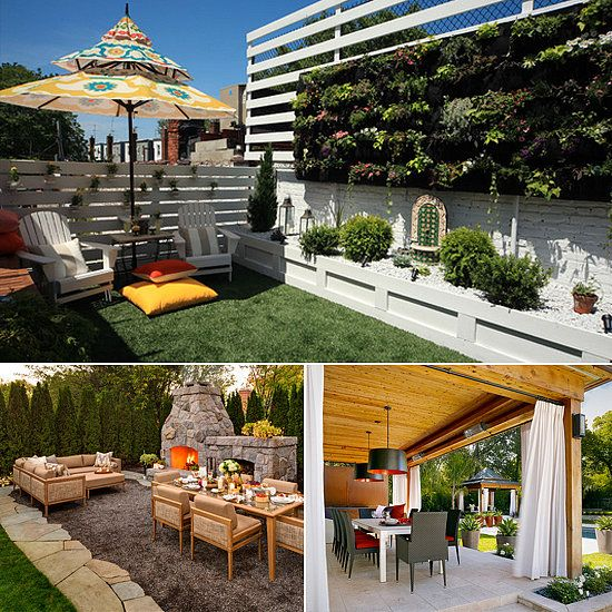 Pin By Ines Barrionuevo On Garden Pinterest Patios & How To Make Patio Private | New House Designs
