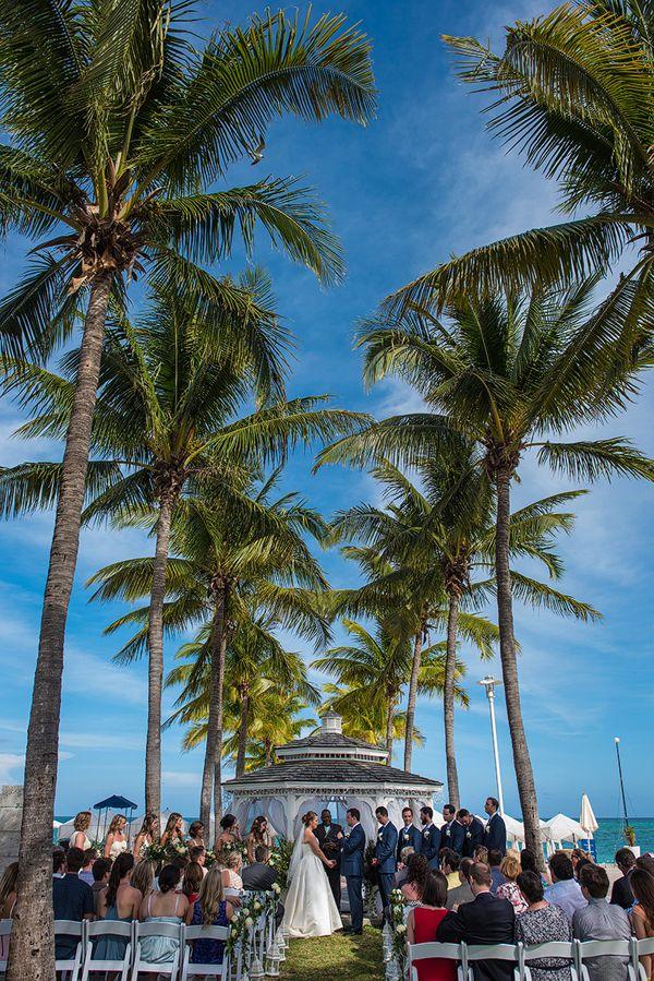 a beautiful real wedding at memories grand bahama beach bahamas by cooked photography