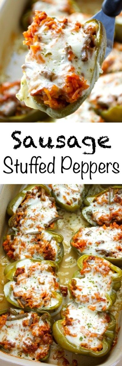 An easy, but flavorful version of a summer favorite! These sausage stuffed peppers utilize a lot of leftovers that may be hanging out in your fridge to make a simple summer meal.