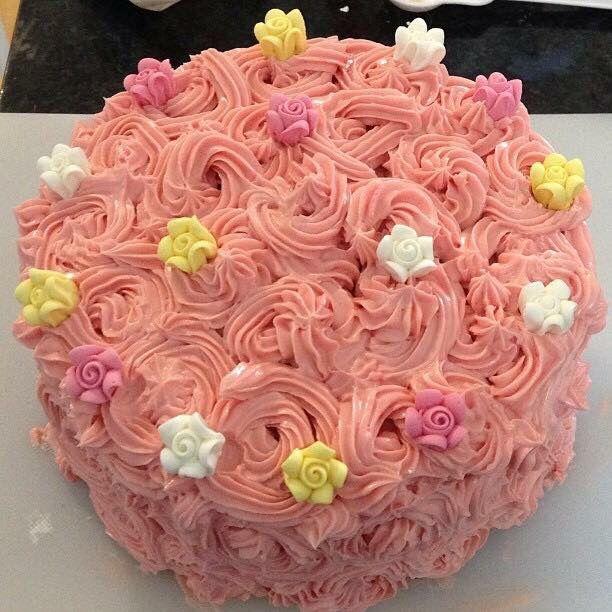 My daughters cake smash cake