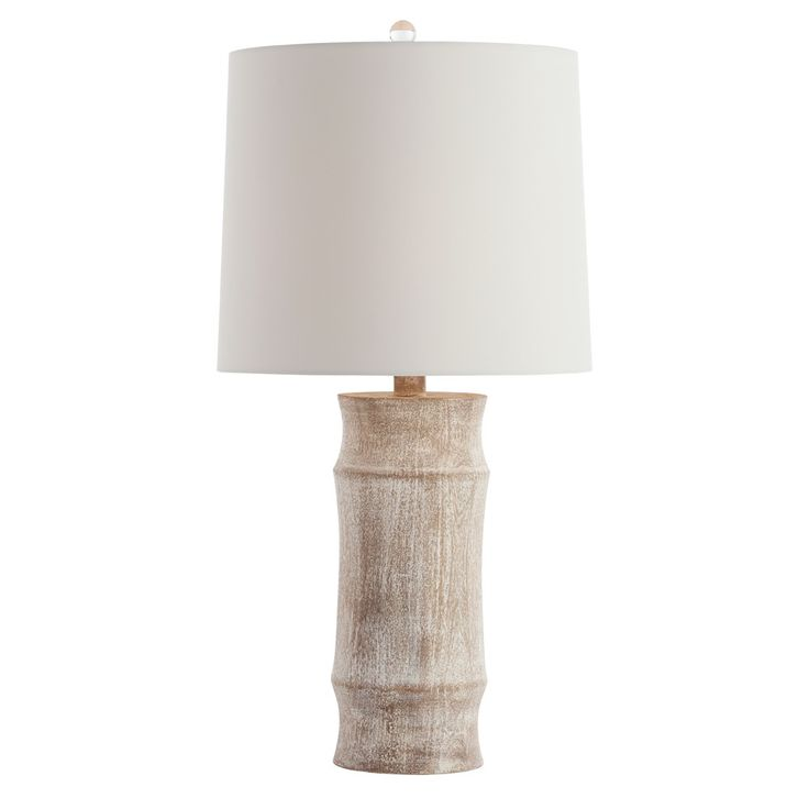 144 best beach house lighting images on pinterest beach house a lamp version of the popular jesup stool this solid wood carved base is lime washed to accentuate the wood grain topped with an ash microfiber drum shade aloadofball Images