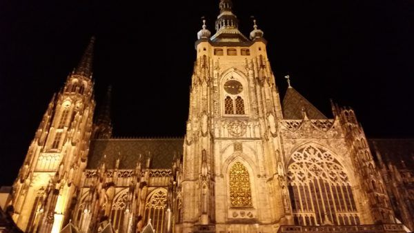 Prague ST Vitus Cathedral, the great south tower.