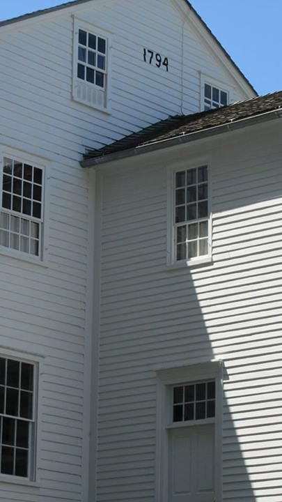 Sabbathday Lake Shaker Village 1794 Meetinghouse, New Gloucester, Maine -- well worth a visit!