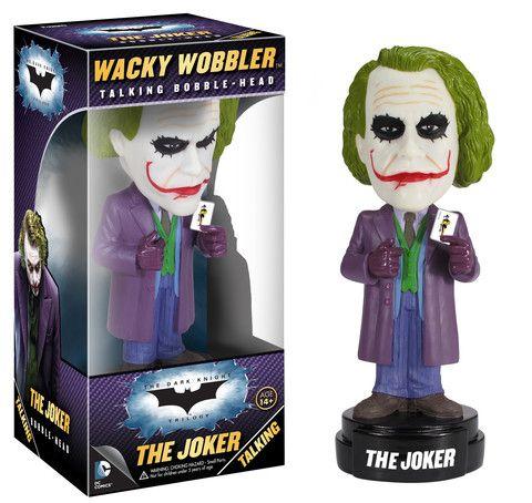 Wacky Wobbler: DC Universe - The Dark Knight MOVIE - The Joker (Talkin | Funko