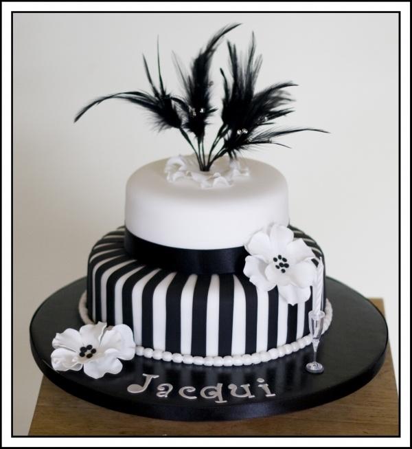 Happy Birthday Zebra Cake Stencil