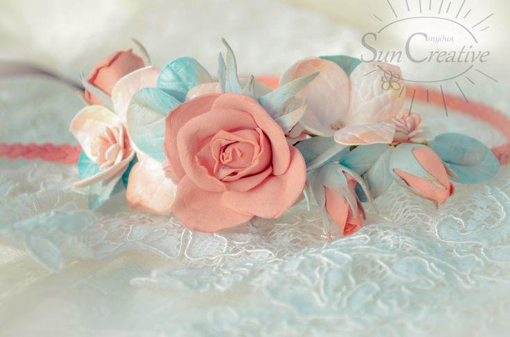 Розы,гортензия, эвкалипт.  Будьте неповторимы и женственны!  Цветы по Вашему желанию....