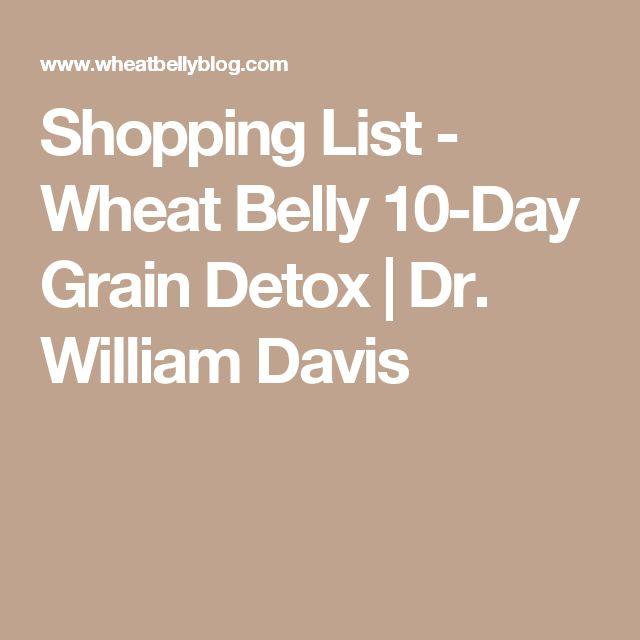 Shopping List - Wheat Belly 10-Day Grain Detox | Dr. William Davis
