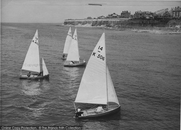 Hunstanton, Yachting c1955 #sailing #yachting #nostalgia