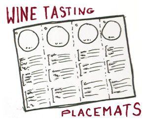 Wine Tasting Mats