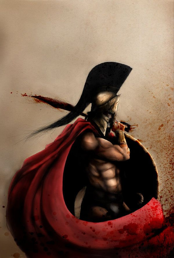 Leonidas - 300. Spartans where the Saiyans of our time.