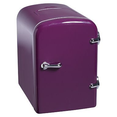 Cutest mini fridge ever! Need in office stat!  Mini Cooler #pbteen