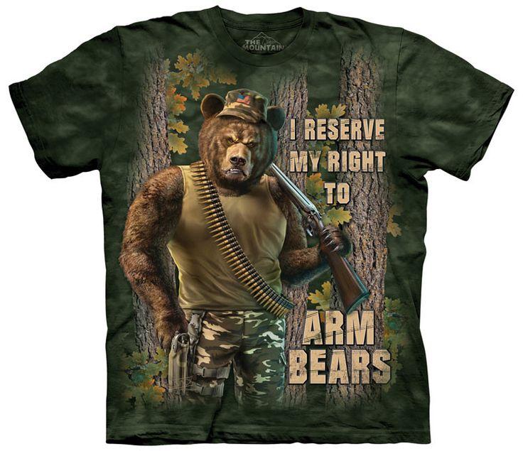 2nd Amendment T-Shirt | Arm Bears