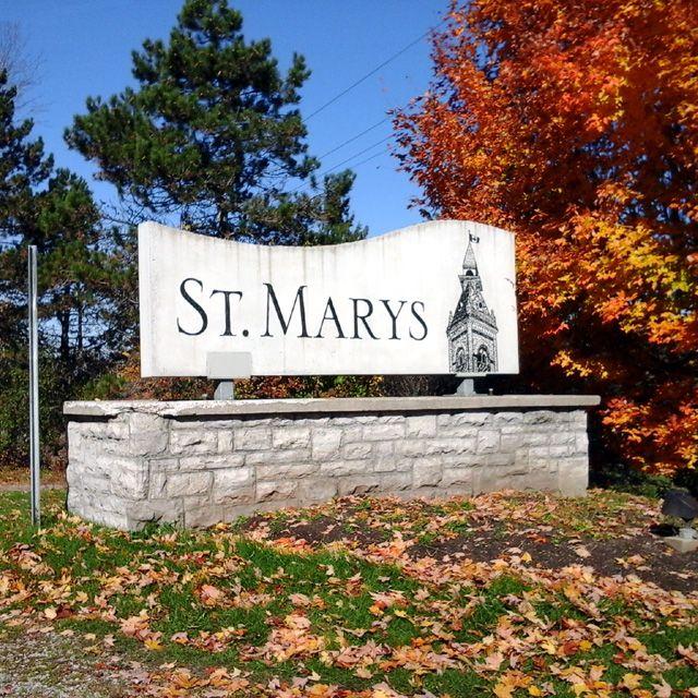 St Marys Ontario sign