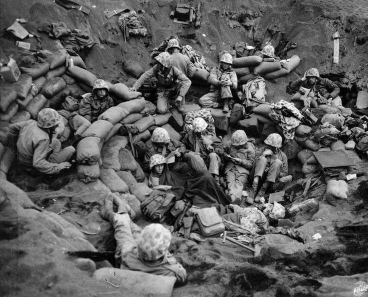 Iwo Jima, 1945.