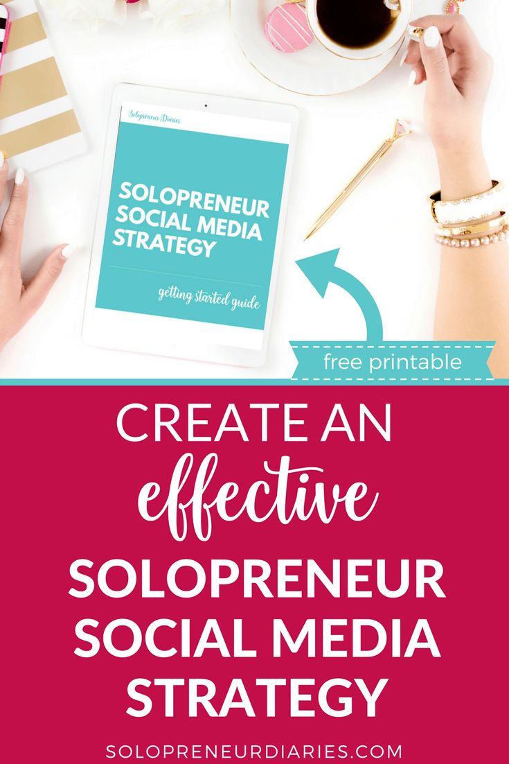 Social Media Marketing | Do you have a social media marketing strategy for your business? If you're a blogger or entrepreneur, click through for tips and ideas on how to create your own social media marketing plan, plus grab a free printable cheat sheet to help you get started! Social Media Marketing Tips | Entrepreneur #socialmediamarketingtips #socialmedia