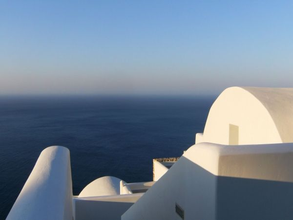 Endless blue in Chora
