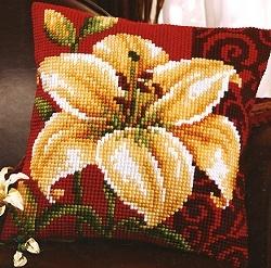 Oriental Lily Cross Stitch Tapestry 991V