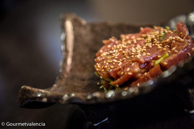 Tartar de Sushi Home, en Valencia