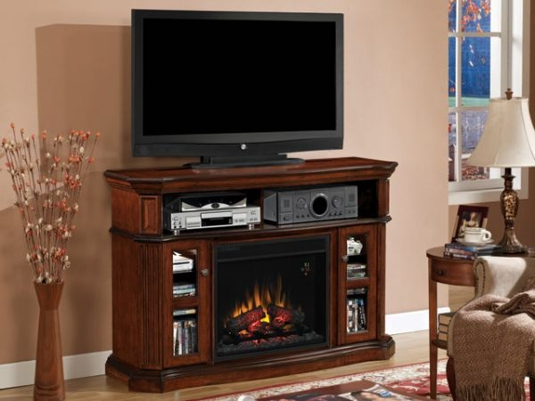 Aberdeen Fireplace TV Stand. Flame Can Be Used With Or Without Heat.  Available At. Just CabinetsMedia ...