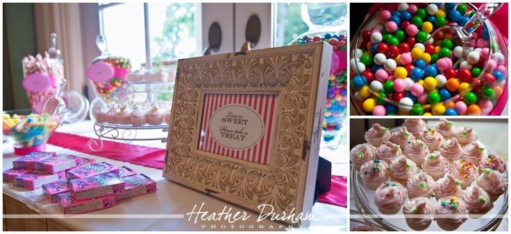 Candy Bar - part of wedding favors Wedding Ideas Pinterest