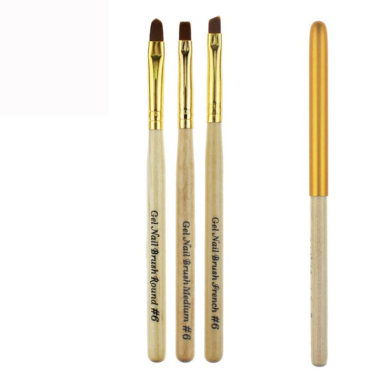 GRACEFUL 1pcs Nail Brush UV Gel French Nail Phototherapy Pen French Tips Manicure Pen Brush Design Nail art Painting Pen OCT25