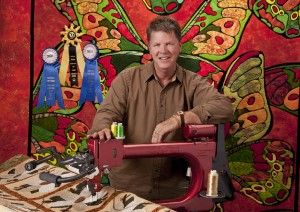 Free Quilting Seminar in Paducah, Ky., featuring MARK SHERMAN. October 2013 (www.quiltviews.com)