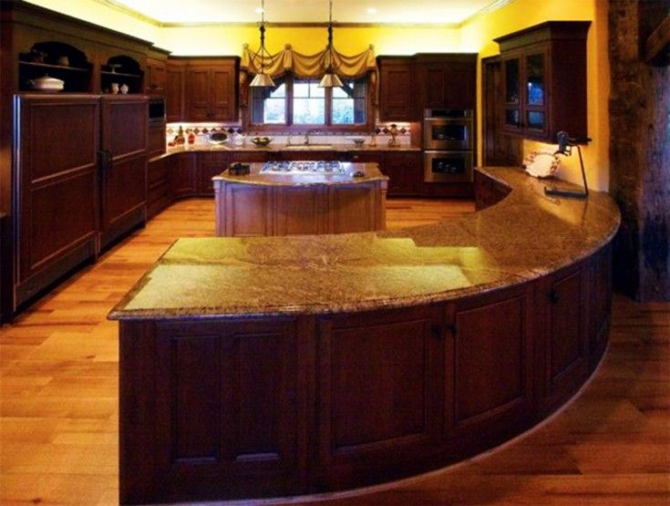 Curved Kitchen Island 11 best kitchen images on pinterest | curved kitchen island