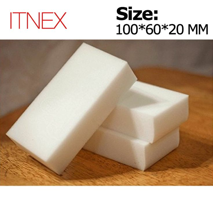 100*60*20mm 100 stks Magic Spons Gum Keuken Kantoor Badkamer Schoon Accessoire/Schotel Cleaning Melamine spons nano wholesale-51