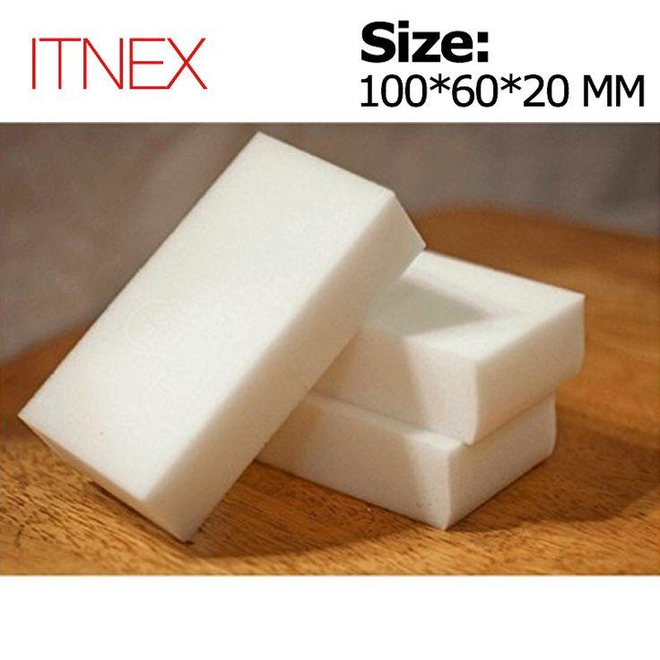 100*60*20mm 100 pcs Magic Sponge Eraser Kantor Dapur Kamar Mandi Bersih Aksesori/Pembersih Piring Melamin spons nano wholesale-51