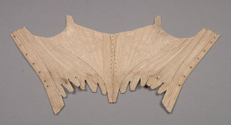 Corset (stays) ca. 1775–1790 Fine Arts Museums of San Francisco