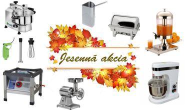 Zľavnené produkty v jesenných mesiacoh