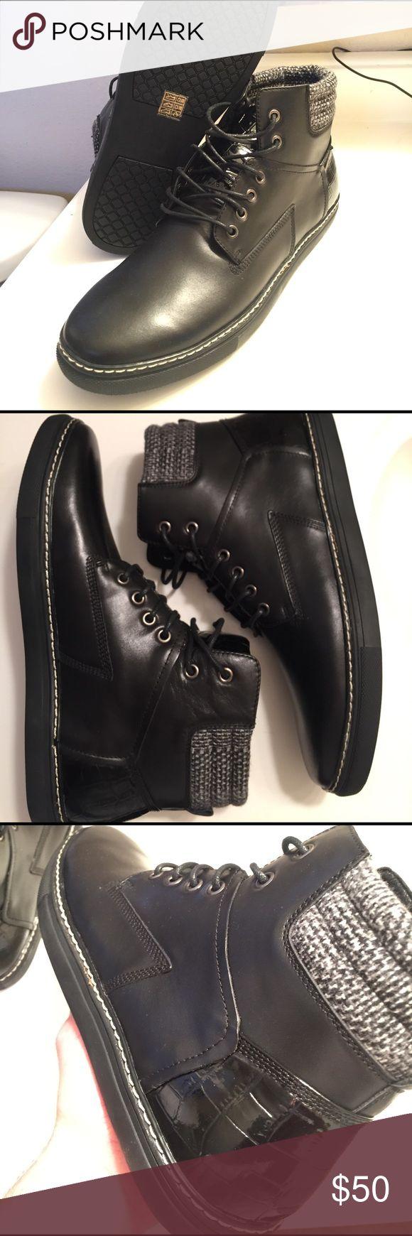 Joe's Benny Leather high top sneaker m 11 Brand new Joe's jeans benny leather high top sneaker size 11. Brand new unworn. Joe's Jeans Shoes Sneakers