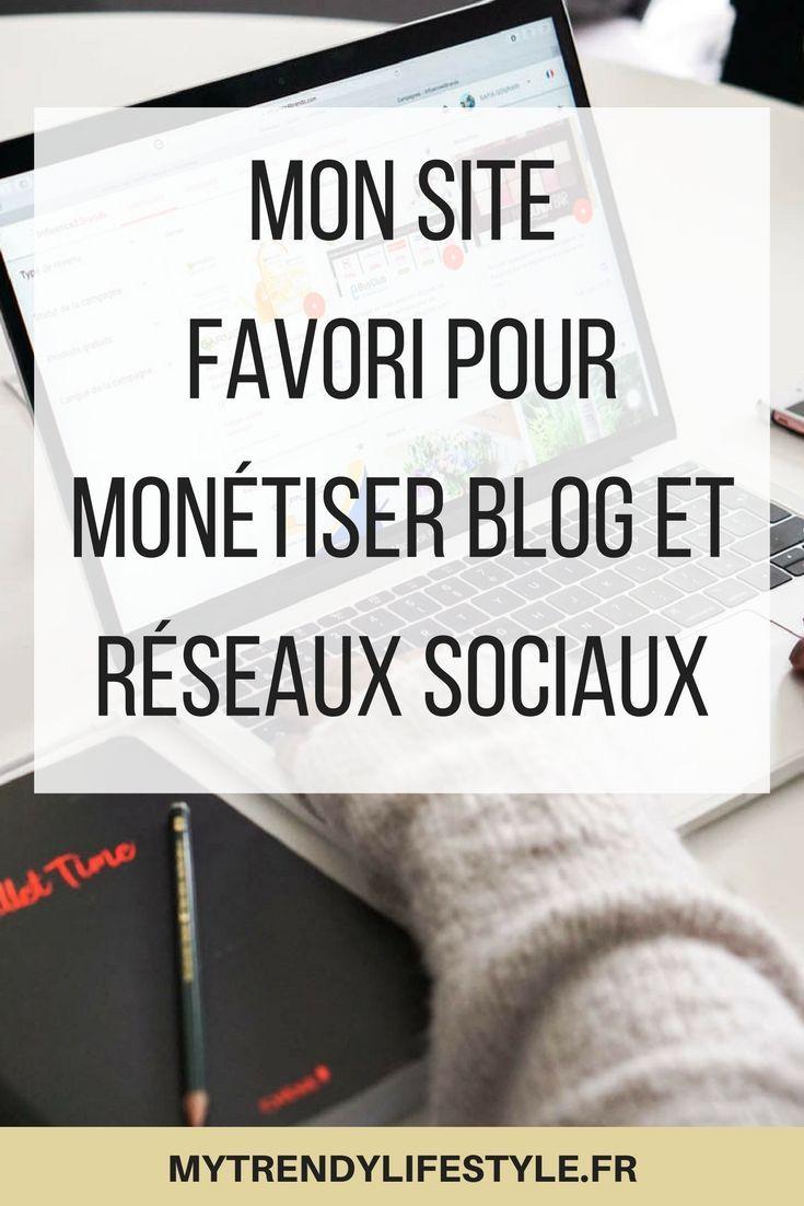 Mon site favori pour monétiser son blog et ses réseaux sociaux