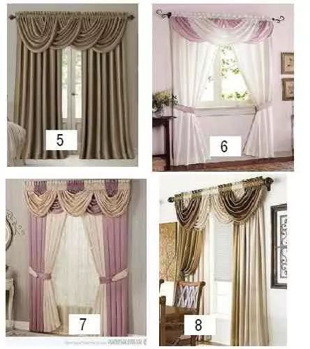 25 best ideas about cortinas con cenefas on pinterest for Cenefas para cortinas