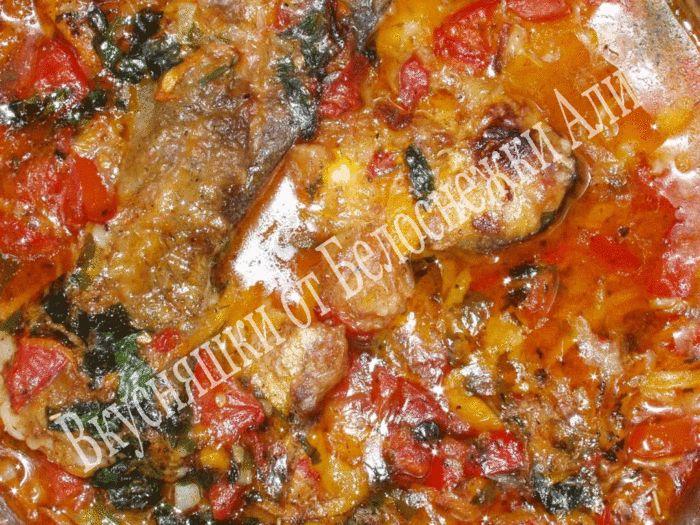 """Тушеная рыба с овощами """"Ароматный пасьянс"""". Обсуждение на LiveInternet - Российский Сервис Онлайн-Дневников"""